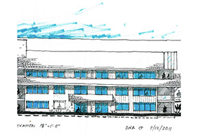 East-Elevation-of-Snug-Cove-House