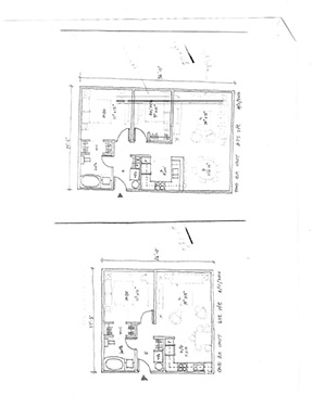 layout-of-one-and-two-bedroom-suites